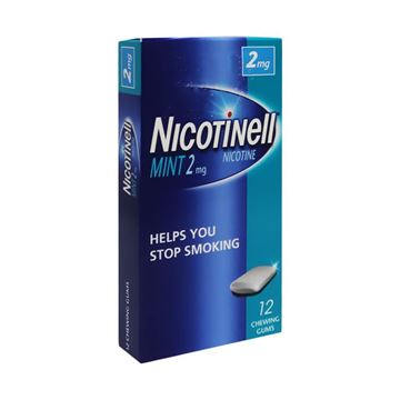 Picture of Nicotinell 2 Mg 12 Gum Mint