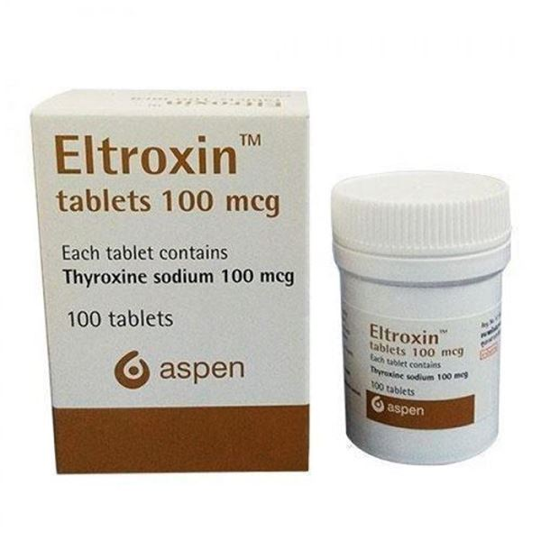 Picture of Eltroxin Tablets 0.1mg