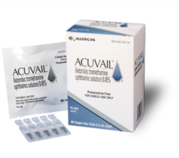 Picture of ACUVAIL 0.45% EYE DROPS 30 X.04ML