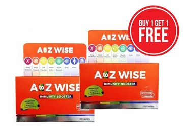Picture of A TO Z WISE IMMUNITY BOOSTER 30 CAPSULES X2 Offer