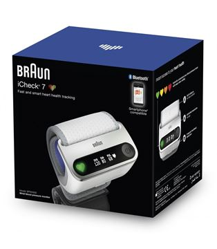 Picture of BRAUN I CHECK 7 WRIST BP MONITOR-BPW4500