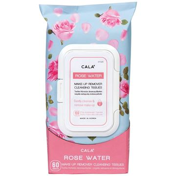 Picture of CALA ROSE WATER MAKE-UP REMOVER TISSUES-67025