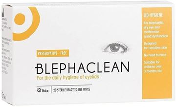 Picture of BLEPHACLEAN 20 STERILE PADS